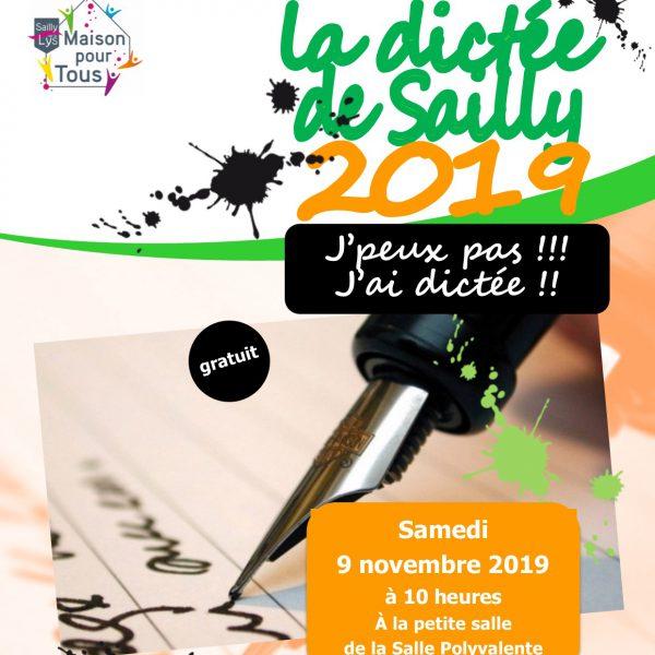 DICTEE DE SAILLY