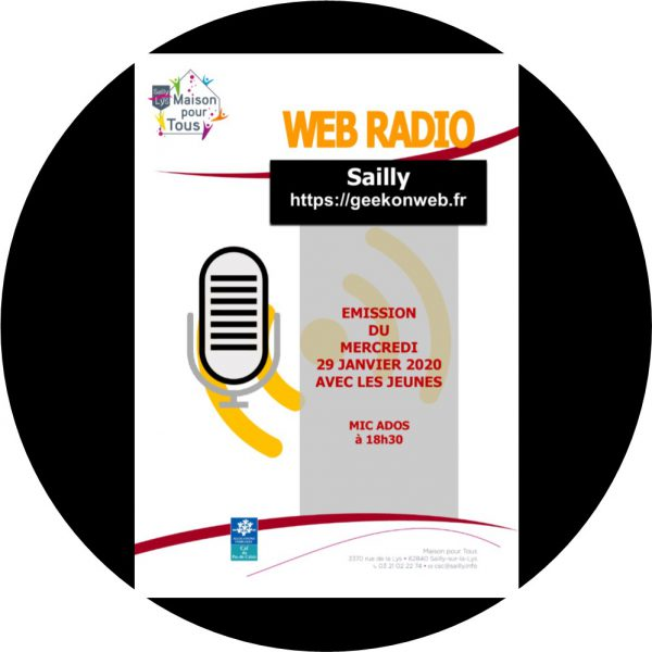 WEB RADIO EMISSION DU 29 JANVIER