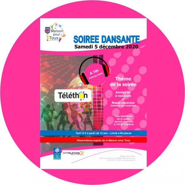 SOIREE DANSANTE TELETHON